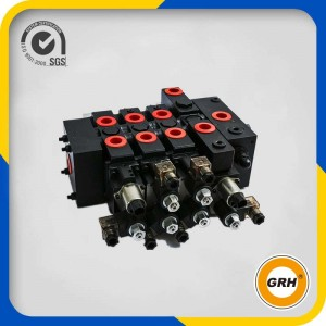 OEM/ODM Supplier Manual Hydraulic Control Flow 200 Liters Sectional Hydraulic Control Valve
