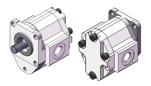 High Pressure Aluminum Gear Pump