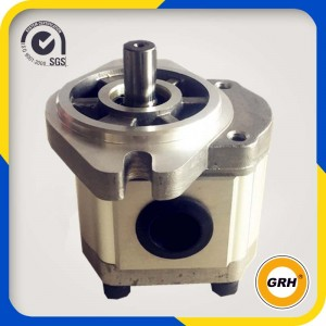 Factory made hot-sale China Group 4+3 Gear Pumps Hydraulic Pump Tandem Gear Pump