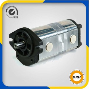 Hydraulic gear pump-DOUBLE PUMP