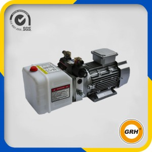 Power Unit for Snow Removal Truck